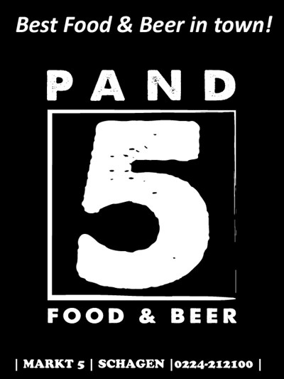 Website van PAND 5 Food & BeerSchagen